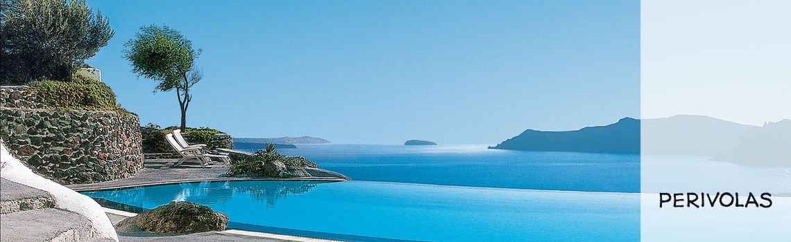Perivolas Luxury Santorini Hotel Pool View