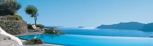 Perivolas Luxury Santorini Hotel Pool View