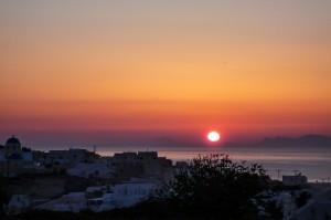 Sunset Santorini Perivolas